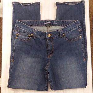 Lane Bryant Straight Jeans